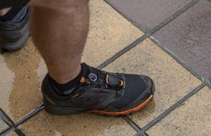 Stryd op schoen
